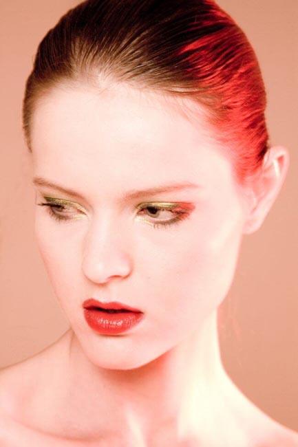 foto rote lippen